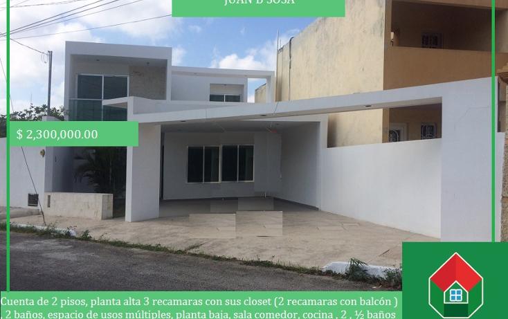 Foto de casa en venta en  , juan b sosa, m?rida, yucat?n, 1771884 No. 01