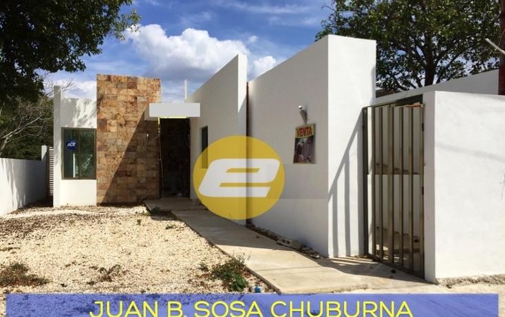 Foto de casa en venta en  , juan b sosa, mérida, yucatán, 692941 No. 01