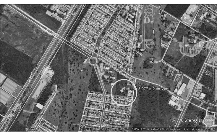 Foto de terreno habitacional en venta en  , juan pablo ii, mérida, yucatán, 1611732 No. 01
