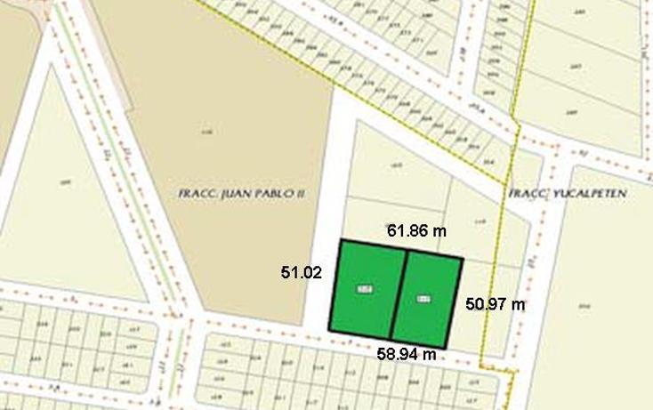 Foto de terreno habitacional en venta en  , juan pablo ii, mérida, yucatán, 1611732 No. 04
