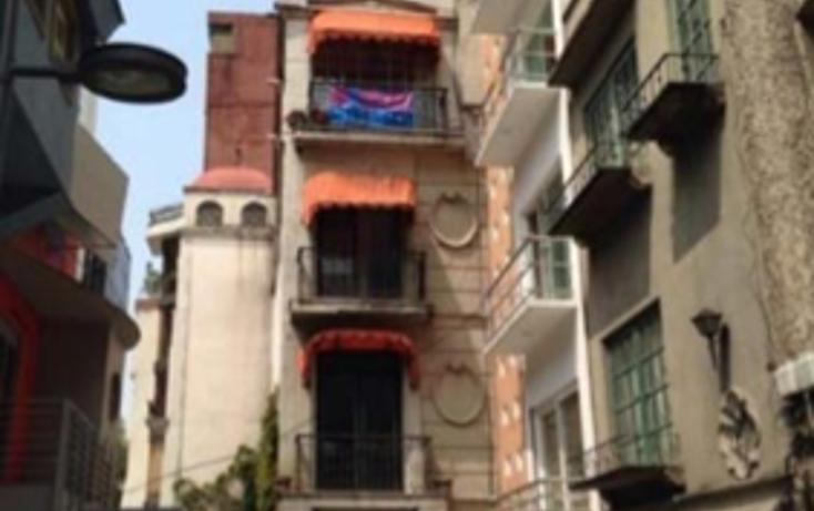 Foto de terreno habitacional en venta en  , juárez, cuauhtémoc, distrito federal, 1600406 No. 01