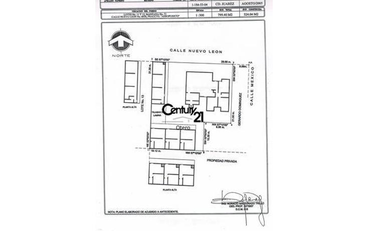 Foto de edificio en venta en  , juárez, juárez, chihuahua, 1180279 No. 25