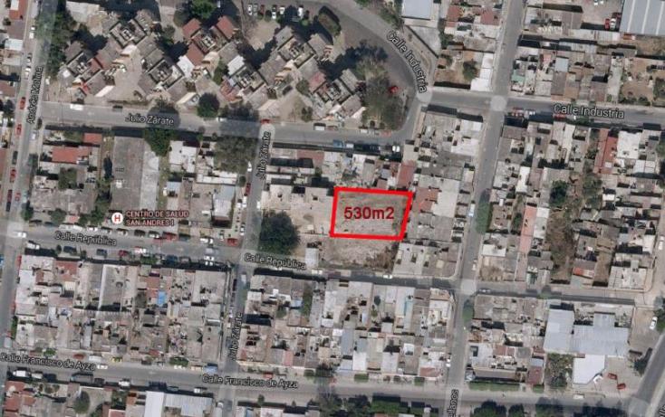 Foto de terreno habitacional en venta en julio zarate 530, libertad, guadalajara, jalisco, 838983 no 10