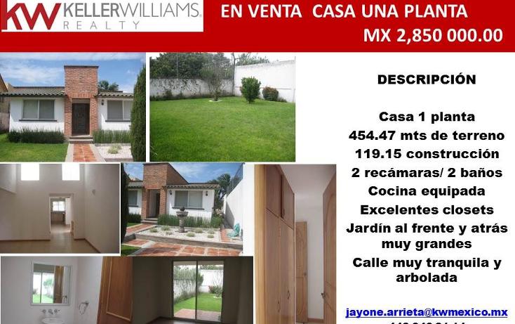 Foto de casa en venta en  , jurica, querétaro, querétaro, 1376923 No. 20