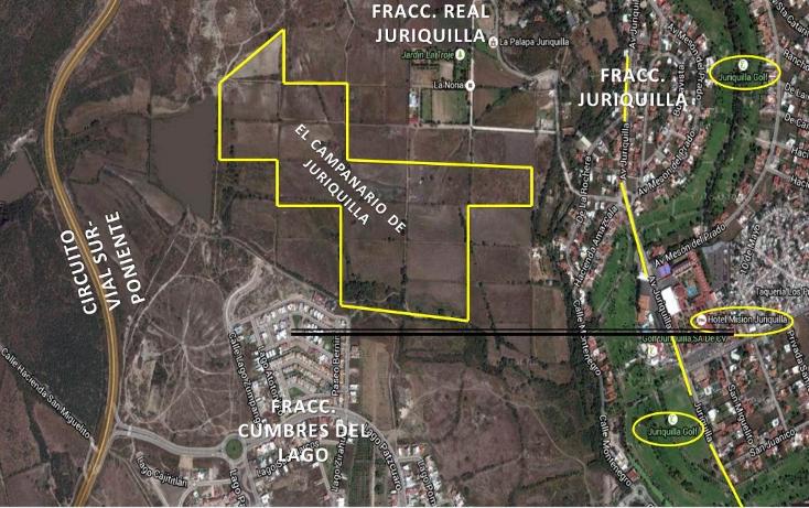Foto de terreno comercial en venta en  , jurica, querétaro, querétaro, 1544475 No. 01