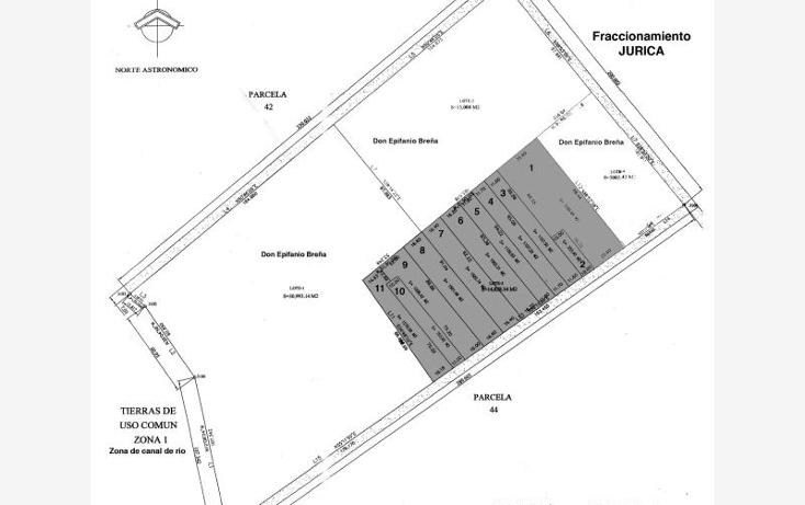 Foto de terreno habitacional en venta en  , jurica, quer?taro, quer?taro, 890591 No. 01