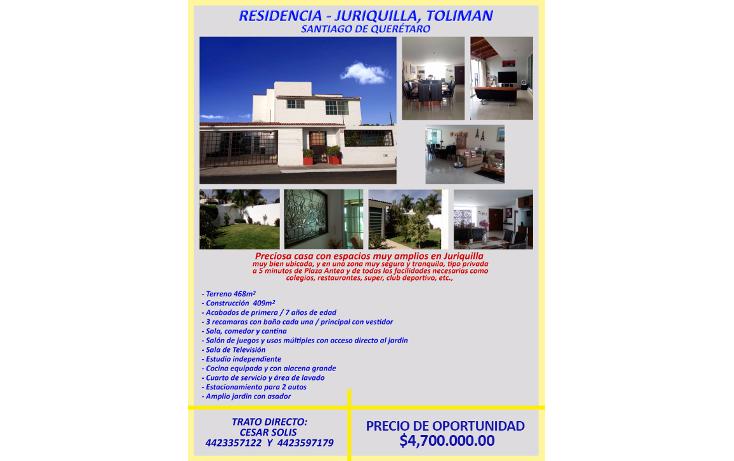 Foto de casa en venta en  , juriquilla, querétaro, querétaro, 1378533 No. 12