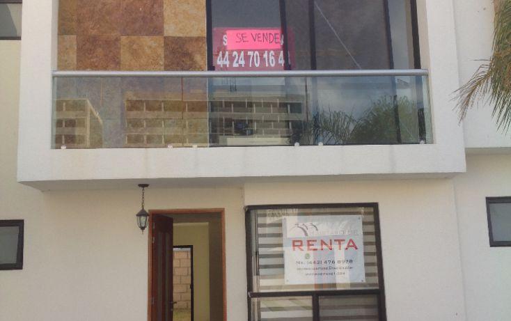 Foto de casa en condominio en renta en, juriquilla, querétaro, querétaro, 1600478 no 01