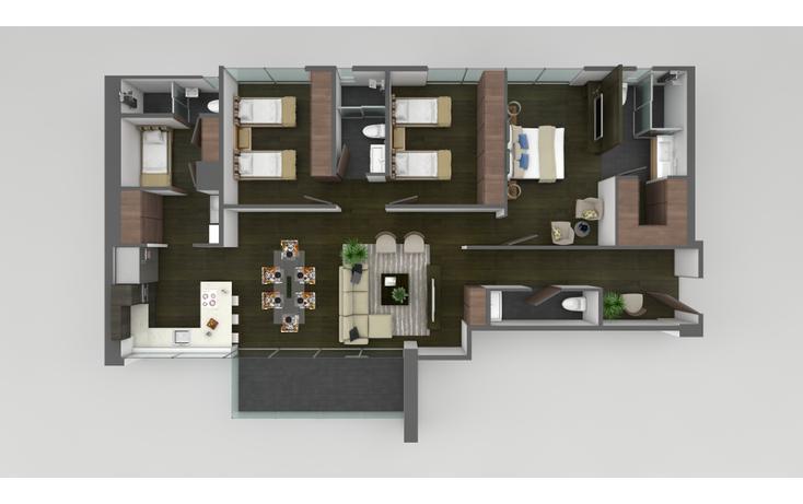 Foto de departamento en venta en kalah , residencial san agustín 2 sector, san pedro garza garcía, nuevo león, 502090 No. 03