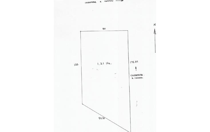 Foto de terreno comercial en venta en  , kantunil, kantunil, yucatán, 1099191 No. 01