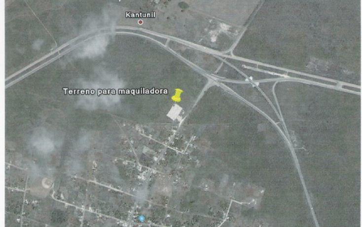 Foto de terreno comercial en venta en, kantunil, kantunil, yucatán, 1099191 no 02