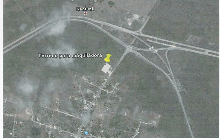 Foto de terreno comercial en venta en  , kantunil, kantunil, yucatán, 1099191 No. 02