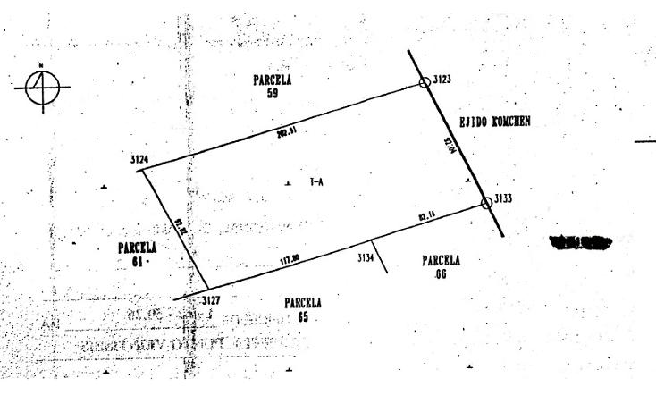 Foto de terreno habitacional en venta en  , kiktel, mérida, yucatán, 1194435 No. 01