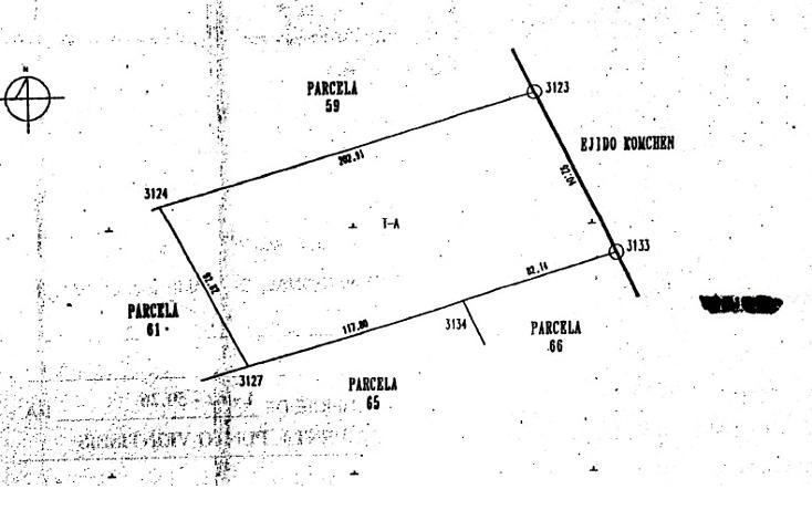 Foto de terreno habitacional en venta en  , kiktel, mérida, yucatán, 1194435 No. 03