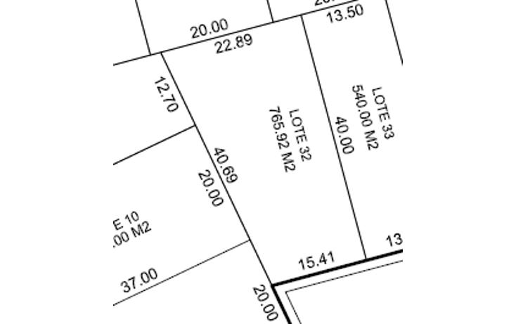 Foto de terreno habitacional en venta en  , kiktel, mérida, yucatán, 1549350 No. 03