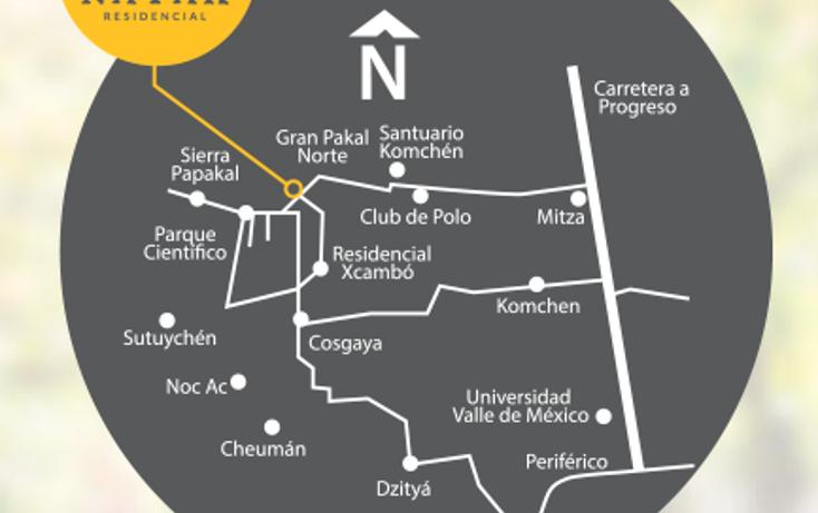 Foto de terreno habitacional en venta en  , kiktel, mérida, yucatán, 1549350 No. 04