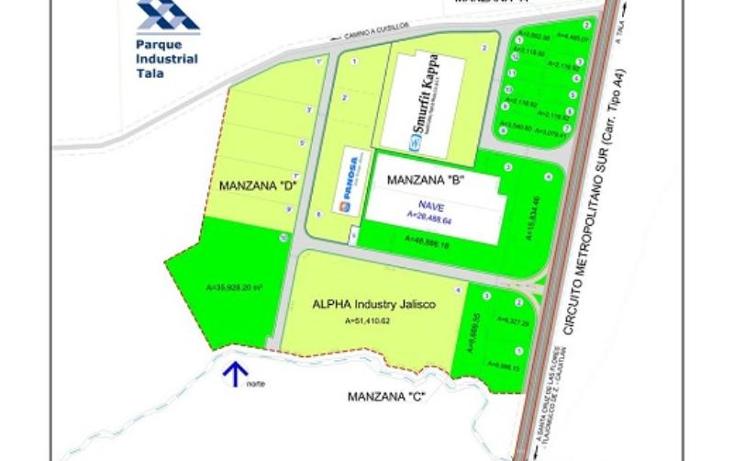 Foto de terreno industrial en venta en kilometro 1.2 carretera tala san isidro mazatepec 0000, tala, tala, jalisco, 388841 No. 12