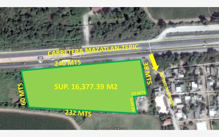 Foto de terreno comercial en venta en  kilometro 266, pozole, mazatl?n, sinaloa, 1584992 No. 01