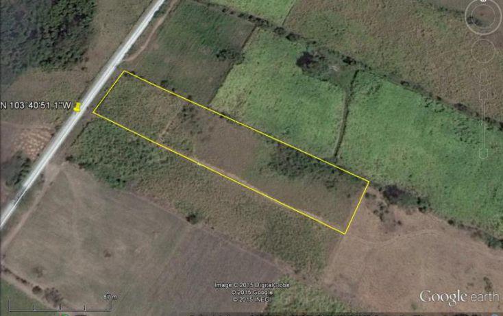 Foto de terreno habitacional en venta en kilometro 39 camino a altozano, cuauhtémoc, cuauhtémoc, colima, 1487201 no 02