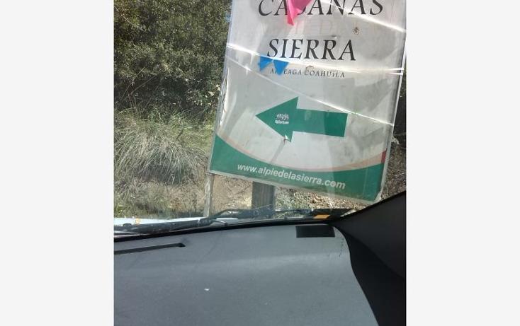 Foto de terreno habitacional en venta en  kilometro 5, los lirios, arteaga, coahuila de zaragoza, 1402275 No. 01