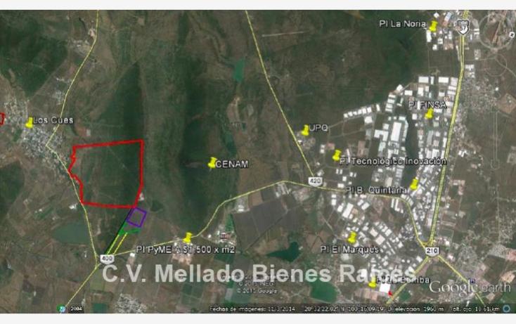 Foto de terreno industrial en venta en  kilometro 6.7, los cues, huimilpan, quer?taro, 1764174 No. 01