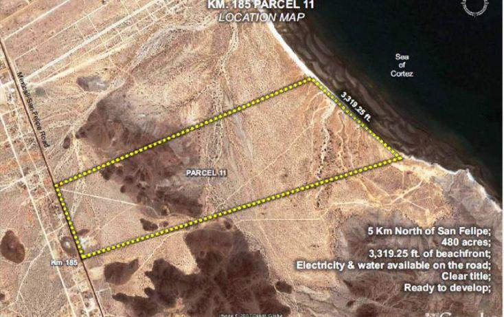 Foto de terreno comercial en venta en km 182 careterra meicalisan felipe, san felipe, mexicali, baja california norte, 1335959 no 02