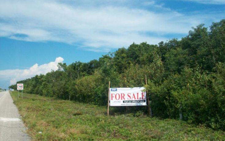 Foto de terreno habitacional en venta en km 225, villas tulum, tulum, quintana roo, 285583 no 01