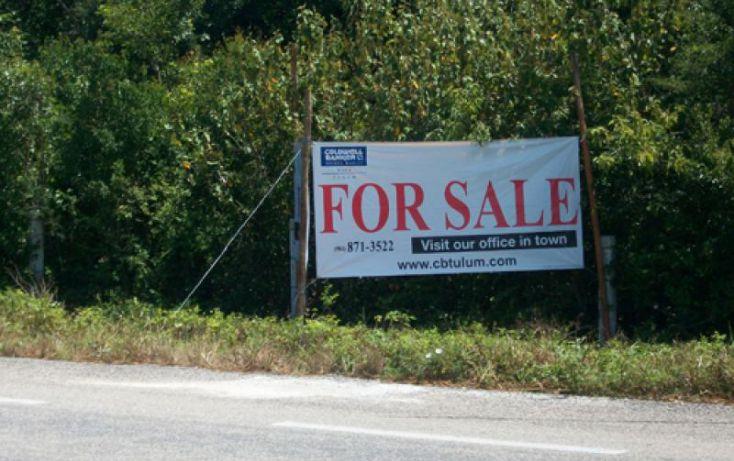 Foto de terreno habitacional en venta en km 225, villas tulum, tulum, quintana roo, 285583 no 02