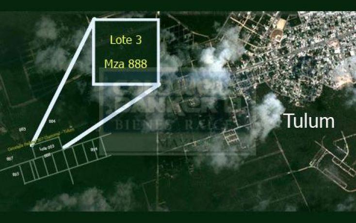 Foto de terreno habitacional en venta en km 225, villas tulum, tulum, quintana roo, 285583 no 05