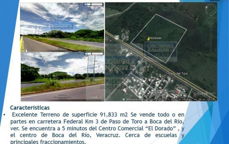 Foto de terreno habitacional en venta en km 3 carretera paso del toro boca del rio, ver, paso del toro, medellín, veracruz, 1739306 no 01