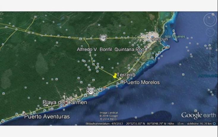 Foto de terreno comercial en venta en km2, puerto morelos, benito juárez, quintana roo, 537091 no 02