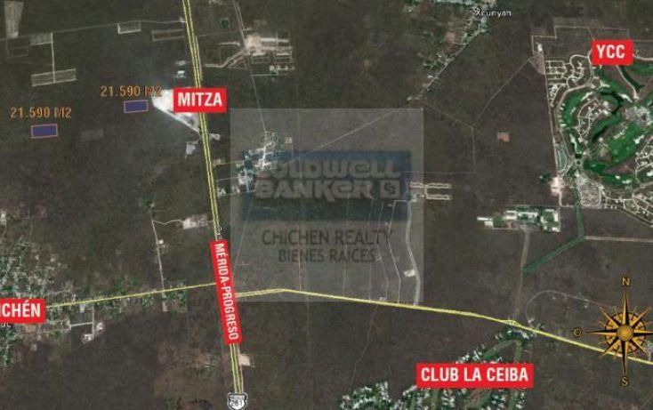 Foto de terreno habitacional en venta en komchen, chablekal, mérida, yucatán, 1754738 no 01