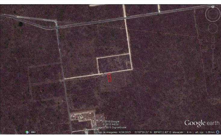 Foto de terreno habitacional en venta en  , komchen, mérida, yucatán, 1062707 No. 01