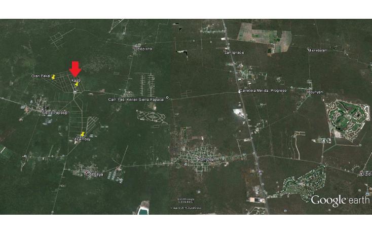 Foto de terreno habitacional en venta en  , komchen, mérida, yucatán, 1070881 No. 04
