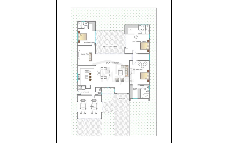 Foto de casa en venta en  , komchen, m?rida, yucat?n, 1084019 No. 06