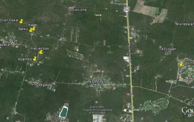 Foto de terreno habitacional en venta en, komchen, mérida, yucatán, 1087471 no 01