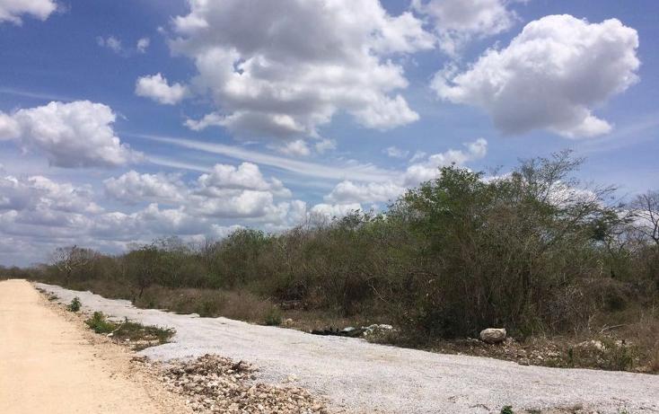 Foto de terreno habitacional en venta en  , komchen, mérida, yucatán, 1088383 No. 01