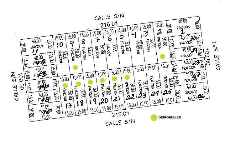 Foto de terreno habitacional en venta en  , komchen, mérida, yucatán, 1092639 No. 01