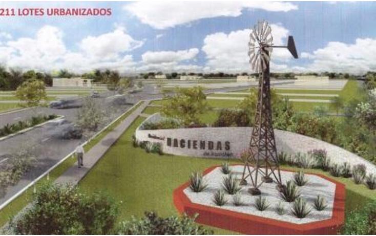 Foto de terreno habitacional en venta en  , komchen, mérida, yucatán, 1098323 No. 01