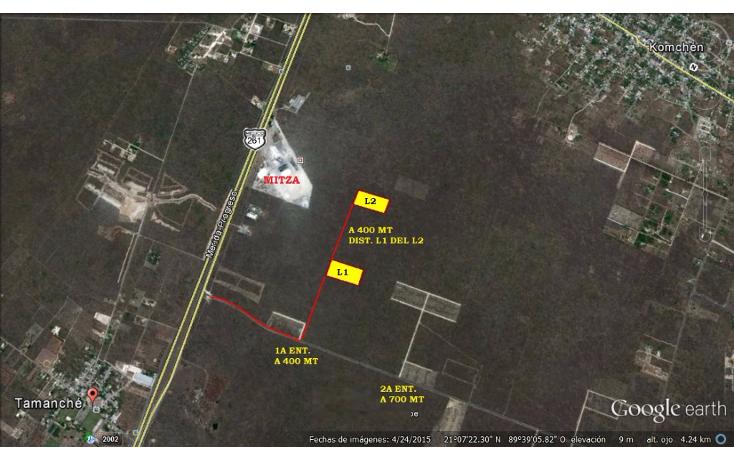 Foto de terreno industrial en venta en  , komchen, m?rida, yucat?n, 1105085 No. 01