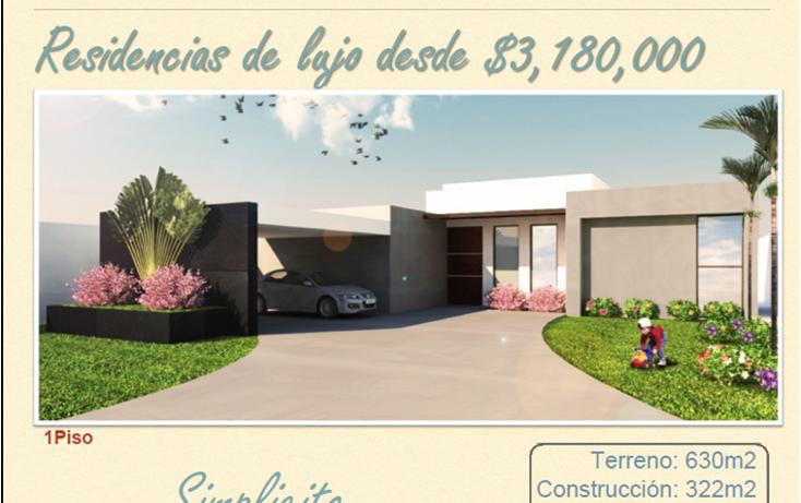 Foto de casa en venta en  , komchen, mérida, yucatán, 1108219 No. 01