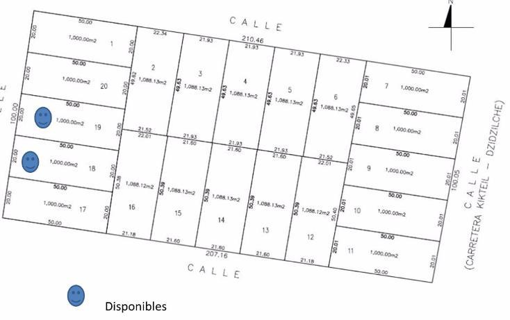 Foto de terreno habitacional en venta en  , komchen, mérida, yucatán, 1128815 No. 01