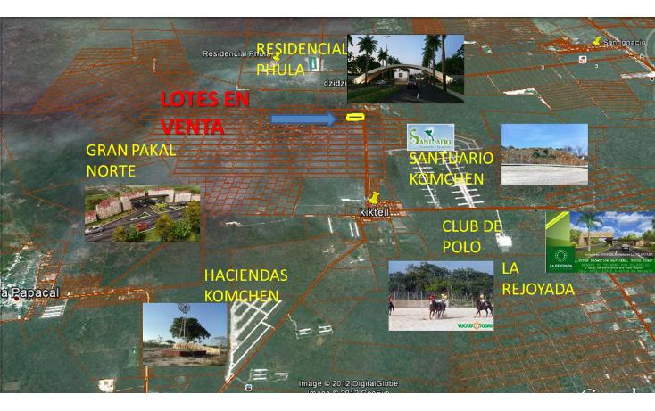 Foto de terreno habitacional en venta en  , komchen, mérida, yucatán, 1128815 No. 05