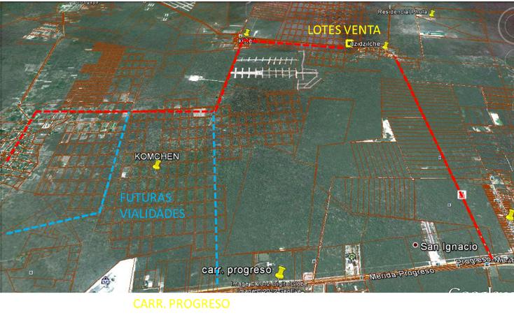 Foto de terreno habitacional en venta en  , komchen, mérida, yucatán, 1128815 No. 06