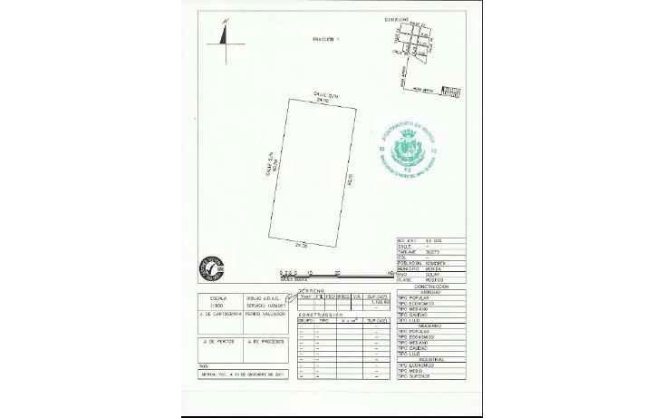 Foto de terreno habitacional en venta en  , komchen, m?rida, yucat?n, 1203897 No. 08