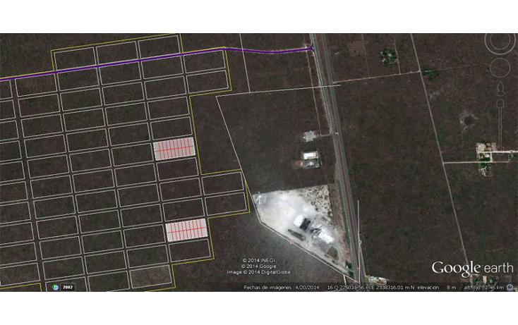 Foto de terreno habitacional en venta en  , komchen, m?rida, yucat?n, 1205735 No. 01