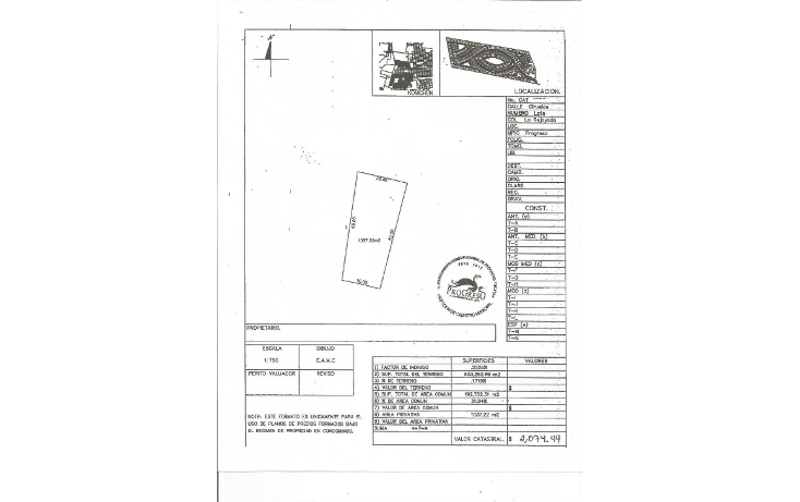Foto de terreno habitacional en venta en  , komchen, m?rida, yucat?n, 1282405 No. 07