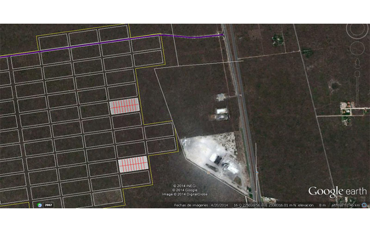 Foto de terreno habitacional en venta en  , komchen, m?rida, yucat?n, 1353639 No. 02