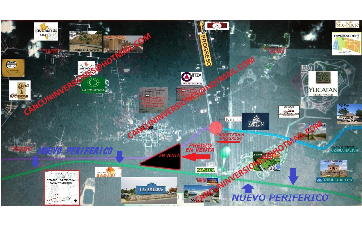 Foto de terreno habitacional en venta en  , komchen, m?rida, yucat?n, 1378675 No. 03