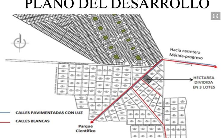 Foto de terreno habitacional en venta en  , komchen, m?rida, yucat?n, 1387153 No. 02